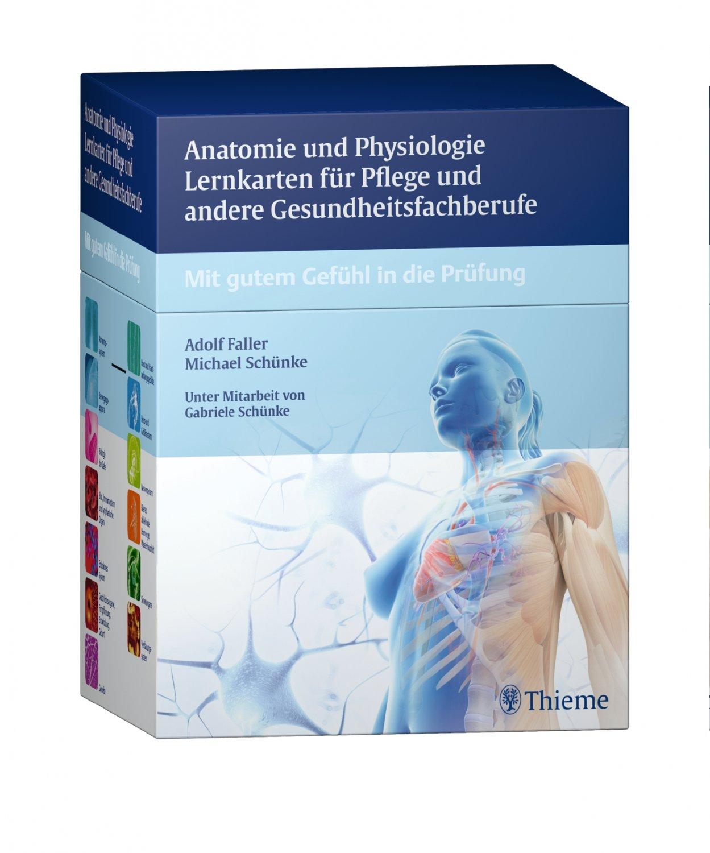 Anatomie und Physiologie Lernkarten für Pflege und andere ...