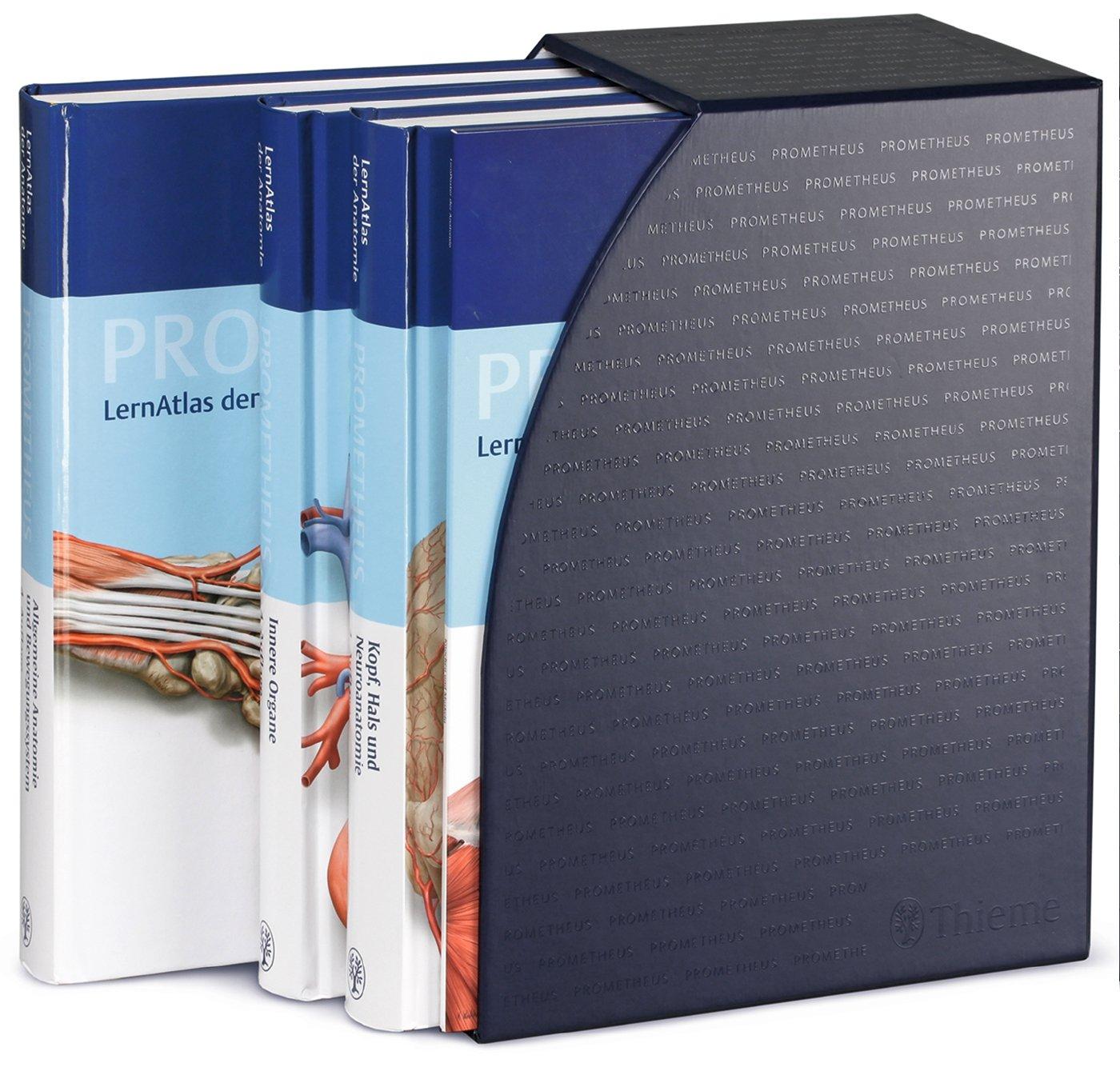 PROMETHEUS LernPaket Anatomie: LernAtlas Anatomie 3 Bände im ...