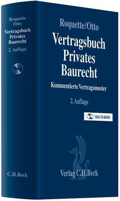 Vertragsbuch Privates Baurecht Kommentierte Vertragsmuster Bücher