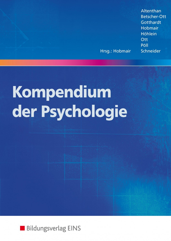 isbn 9783427400707 kompendien der p dagogik und psychologie kompendium der psychologie. Black Bedroom Furniture Sets. Home Design Ideas