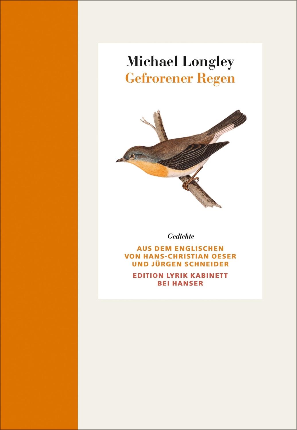 Gefrorener Regen Gedichte Englisch Deutsch Edition Lyrik Kabinett