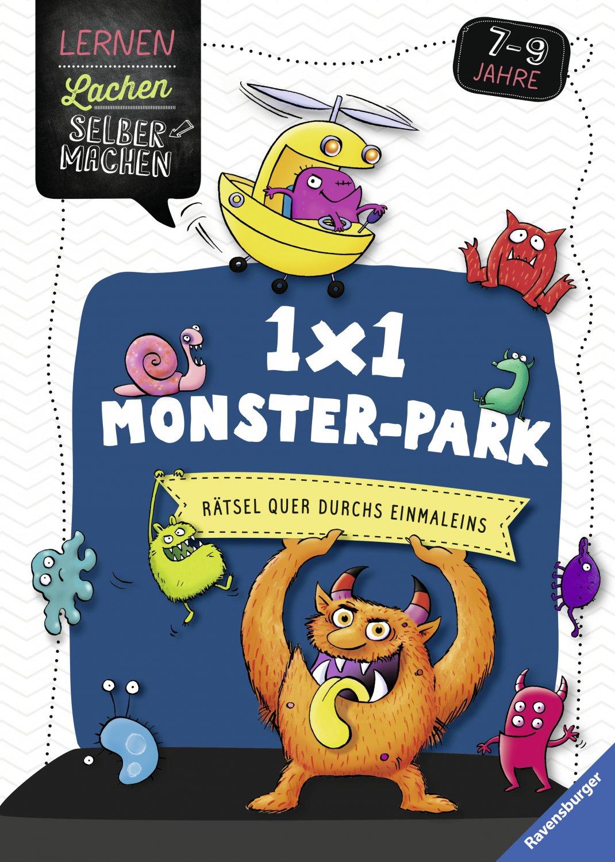 1x1 monster-park; rätsel quer durchs einmaleins; lernen lachen