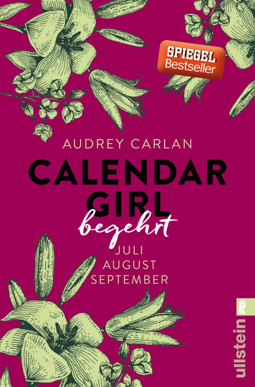 """May Calendar Girl Book : """"calendar girl begehrt juli august september"""" audrey"""