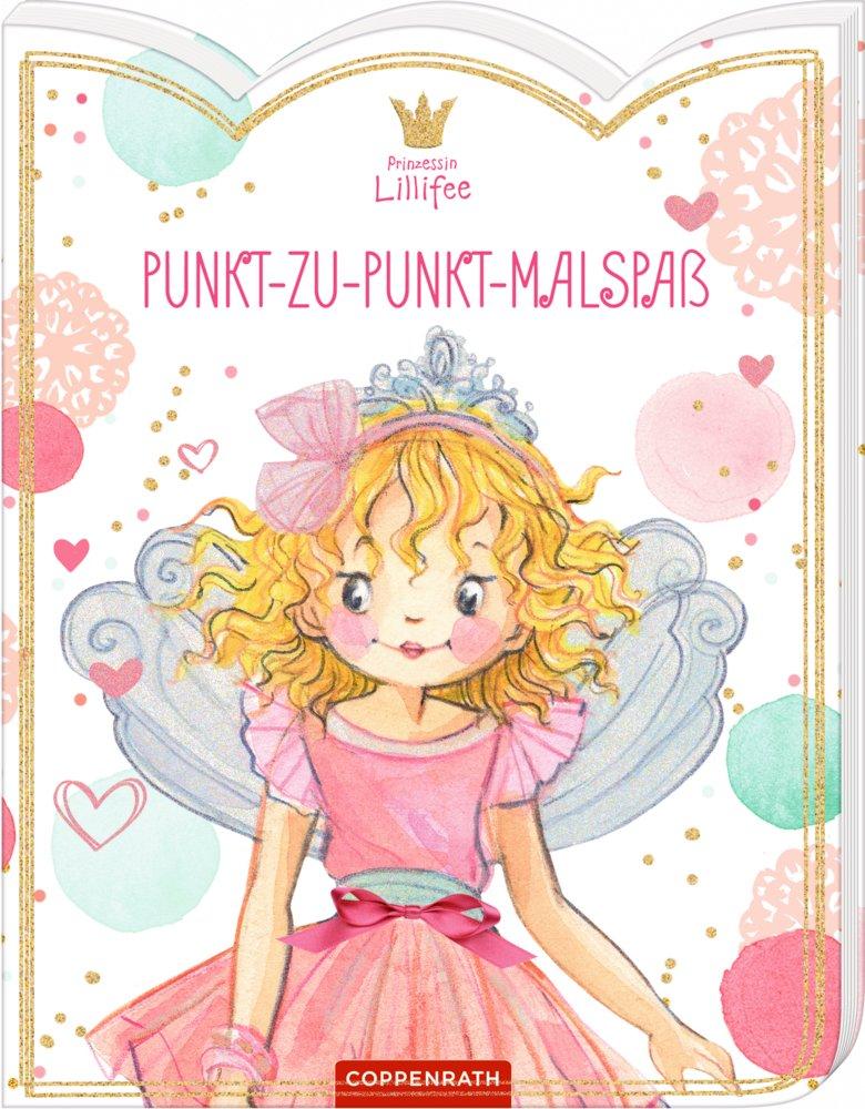 Malbücher für Kinder Punkt-zu-Punkt-Malspaß Taschenbuch Deutsch 2019 Prinzessin Lillifee Mal- & Zeichenmaterialien für Kinder