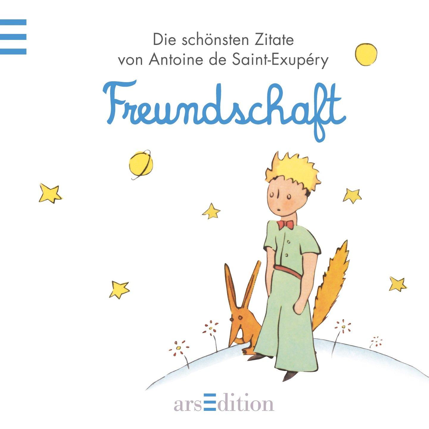 Gebrauchtes Buch De Saint Exupery Antoine Freundschaft Der Kleine Prinz