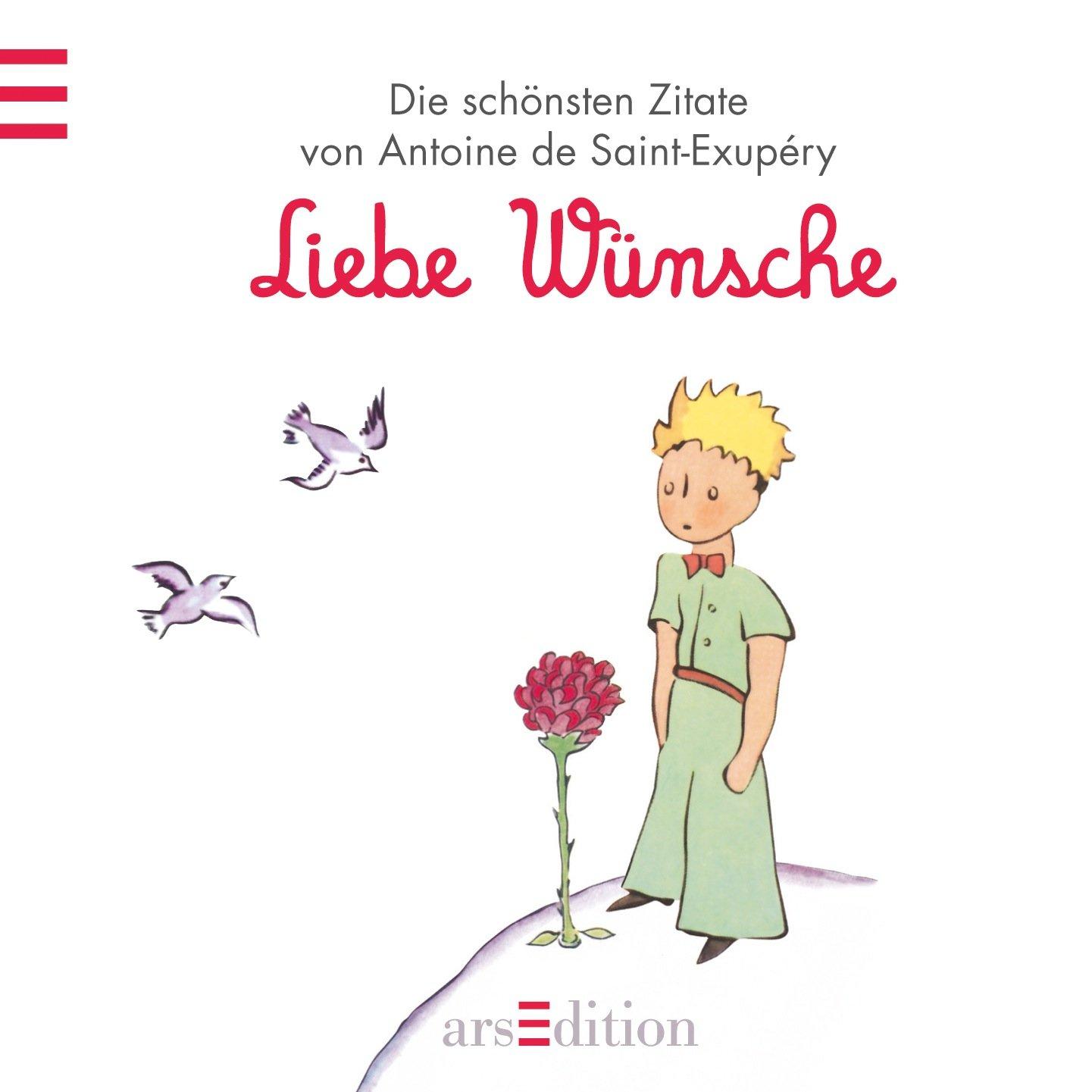 Der Kleine Prinz Zitate Liebe / - Egal wie oft ich ihn