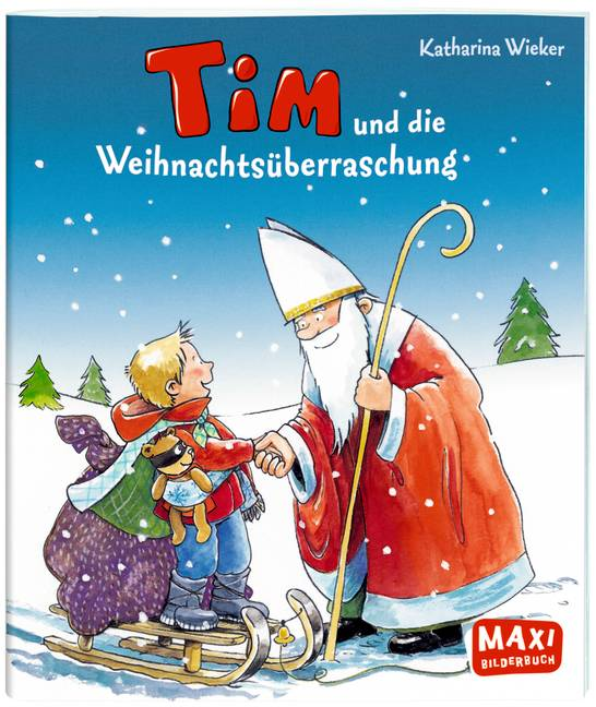 Tim und die weihnachts berraschung katharina wieker for Tim malzer die kuche buch