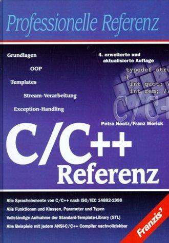 """C/ C++ Referenz"""" – Bücher gebraucht, antiquarisch & neu kaufen"""