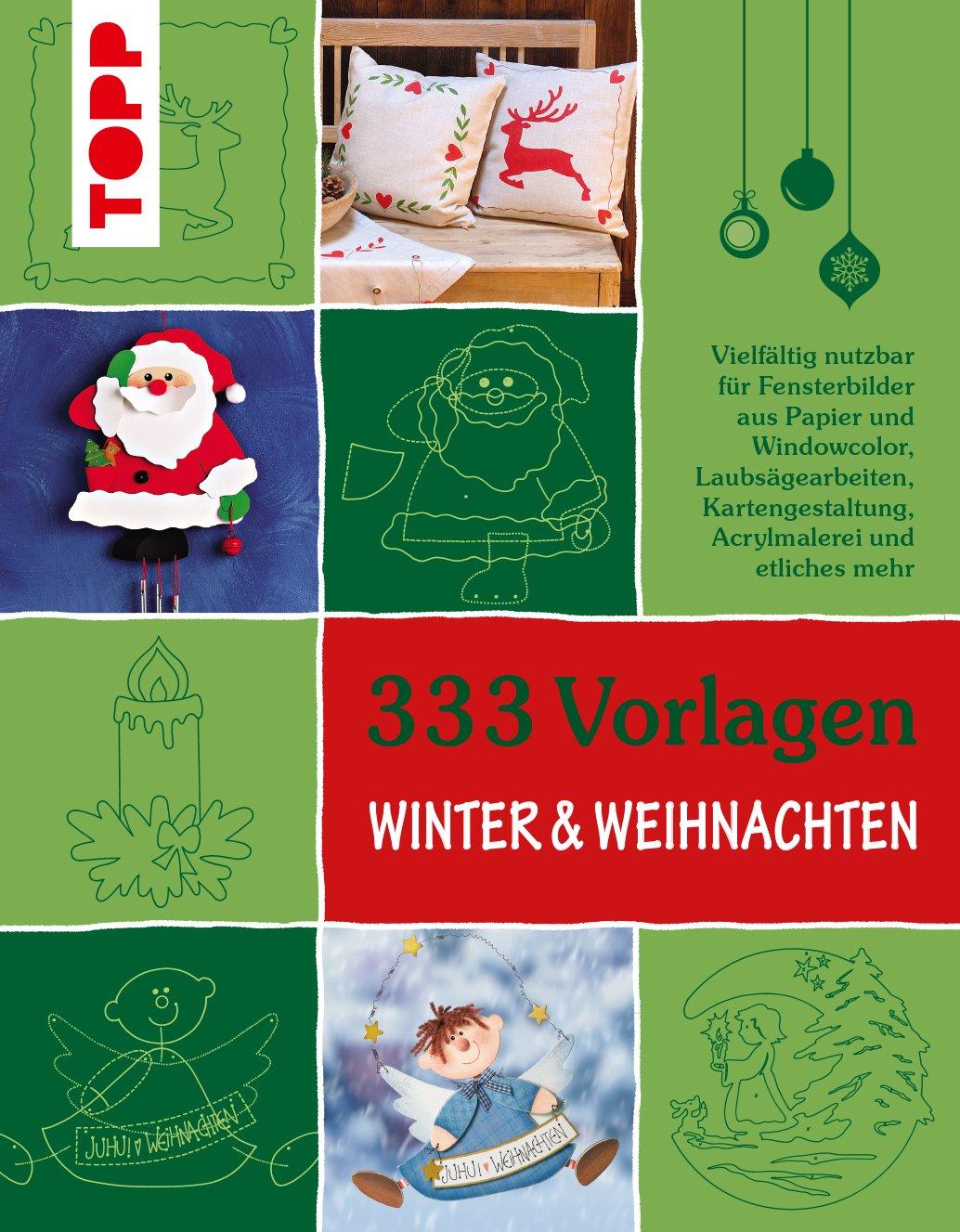 19 Vorlagen - Winter & Weihnachten : vielfältig nutzbar