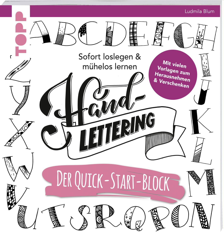"""Blum Ludmila, Handlettering Der Quick-Start-Block"""" – Bücher ..."""