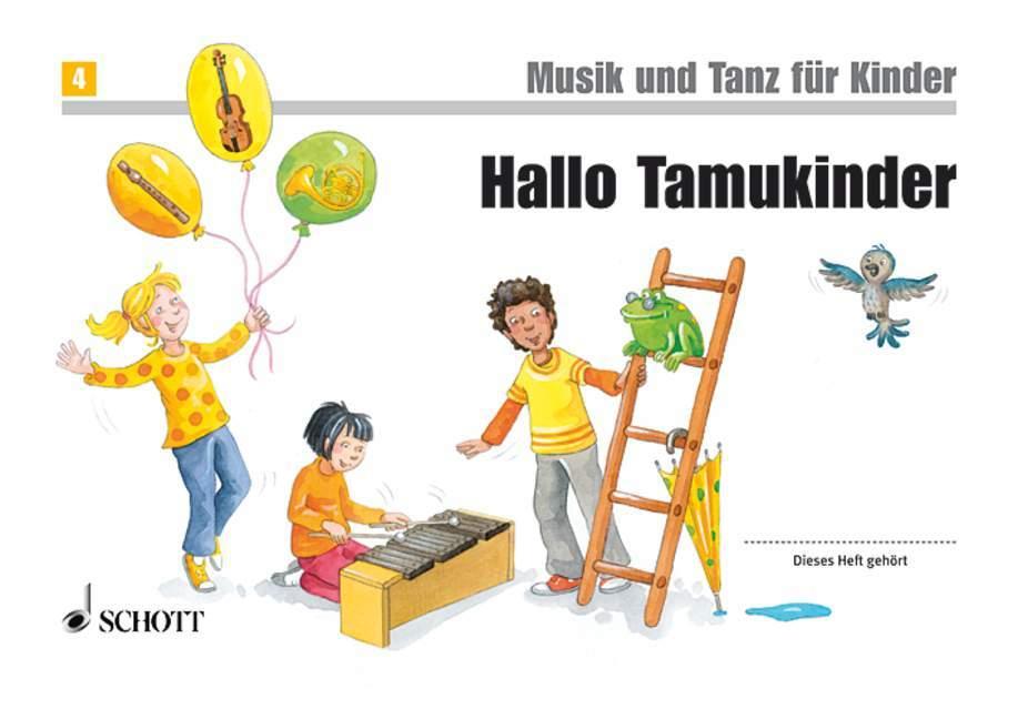 Tamukinder Musik und Tanz für Kinder mit Eltern-Info ED7344-9783795753207