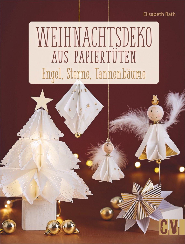 Gebrauchte Weihnachtsdeko.Weihnachtsdeko Aus Papiertüten Engel Sterne Tannenbäume