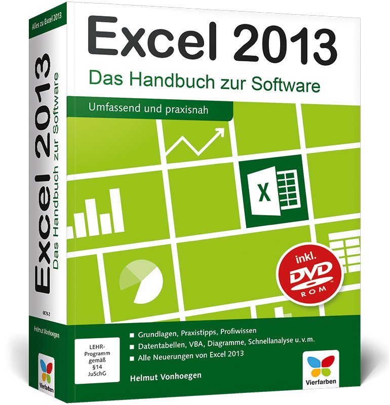 isbn 9783842100732 excel 2013 excel 2013 das handbuch zur software aktuell auch zu excel. Black Bedroom Furniture Sets. Home Design Ideas