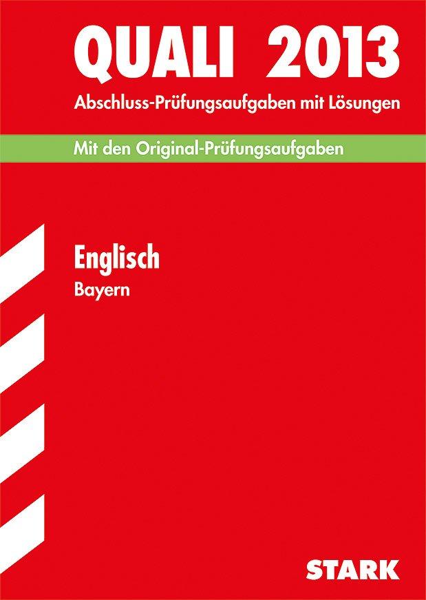 Englisch Quali Bayern