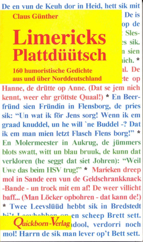 Limericks Plattdüütsch Humoristische Gedichte über Norddeutschland
