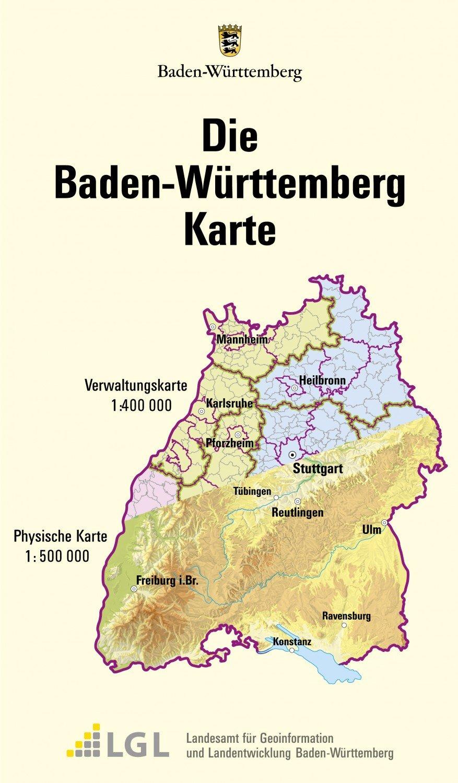 Badenwürttemberg Karte