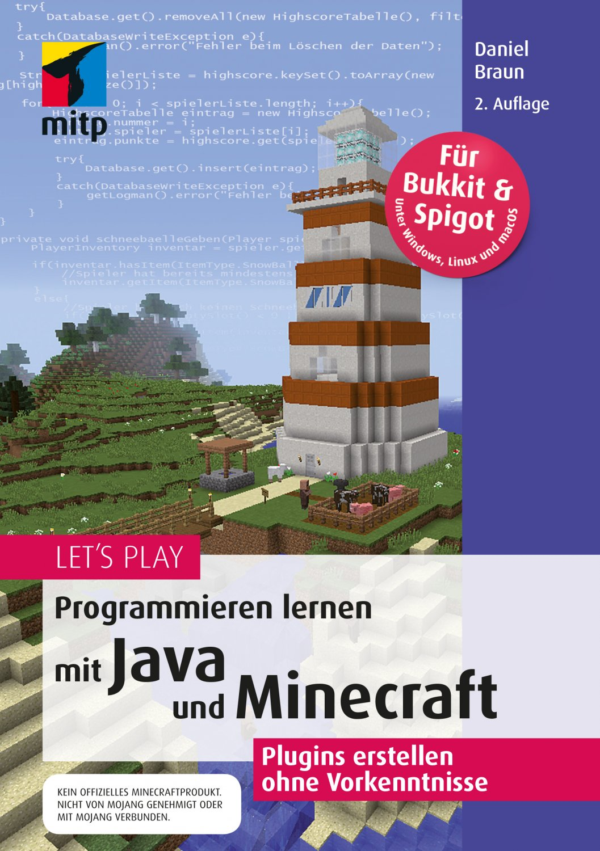 Lets Play Minecraft Plugins Programmieren Mit Java Bücher - Minecraft spiele ohne plugin