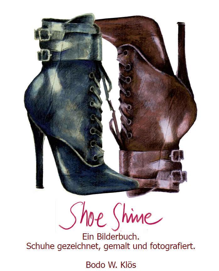 Isbn 9783981825817 Shoe Shine Schuhe Gezeichnet Gemalt Und